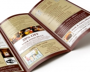 menus and flyer printing