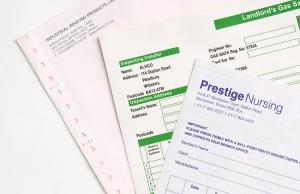 NCR Invoice Pad Printing