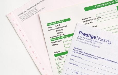 NCR invoice printing