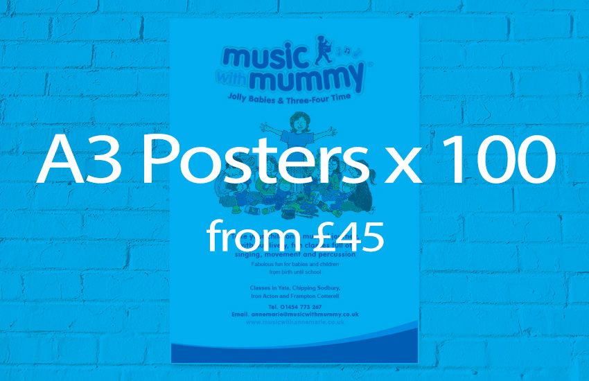 poster printing offer