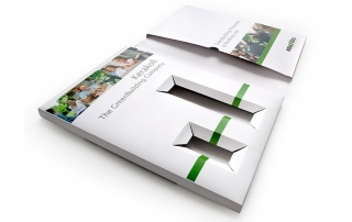 Folders printed