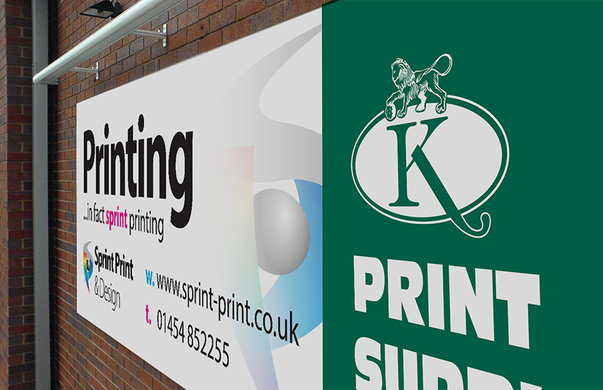 Signage banner printing