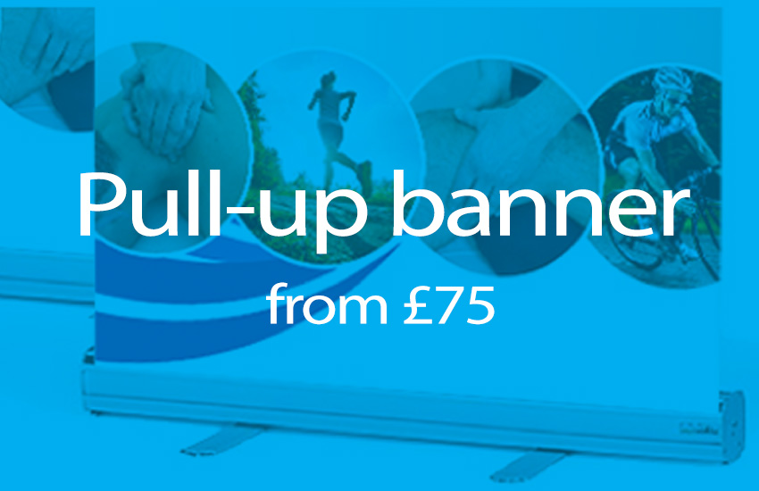 pull up banner printing offer