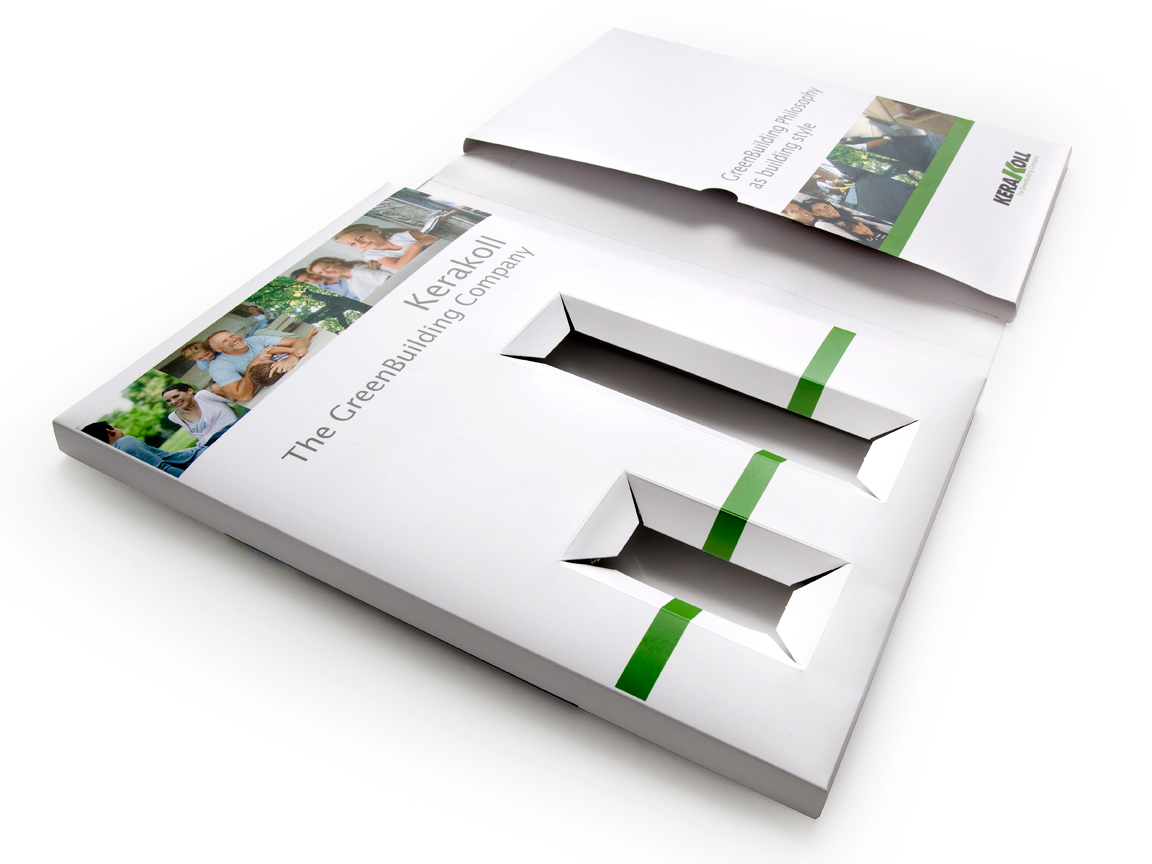Folder design and printing Bristol