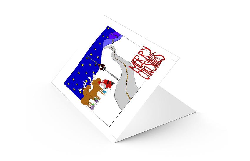 Christmas Card Printing.Christmas Card Printing Sprint Print Card Printing